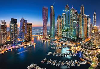 Пазлы на 1500 элементов Небоскребы Дубая (города), (Castorland, Польша)