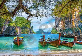 Пазлы на 1500 элементов Красивый залив в Тайланде, (Castorland, Польша)
