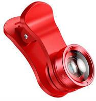 Объектив Baseus short videos magic camera(general)Red