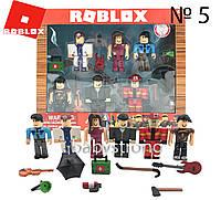Игровой набор Роблокс - Roblox Профессии 6 героев + 8 аксессуаров Фигурки - Констуктор