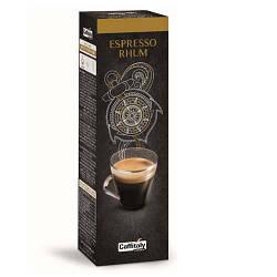 Кофе в капсулах Caffitaly Cafissimo Ecaffe Espresso Rhum ( со вкусом Рома ) 10 шт. Италия