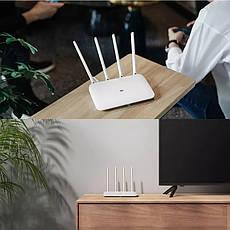 Безпровідний маршрутизатор (роутер) Xiaomi Mi Wi-Fi Router 4 (DVB4190CN), фото 3