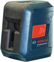 Нивелир лазерный Bosch Professional  GLL 2 + MM2, точность ± 0.3 мм на 30м, до 15  м, 0.5 кг