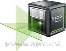 Нивелир лазерный Bosch Quigo Green+ зажим MM2, точность ± 0.8 мм/м , 0.27 кг