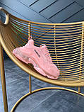 Женские кроссовки Balenciaga Triple S Pink, фото 6