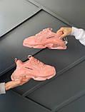 Женские кроссовки Balenciaga Triple S Pink, фото 5