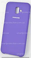 Защитный чехол для Samsung J6 J6 Plus 2018 фиолетовый