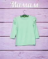 Блуза трикотажная для девочек р.98,104,110,116