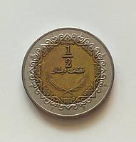 1/2 динара Ливия 2009 г., фото 1