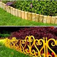 Виготовлення заборів - парканчик S для квітів і рослин для клумб, саду і городу - ціна за 1м. п.