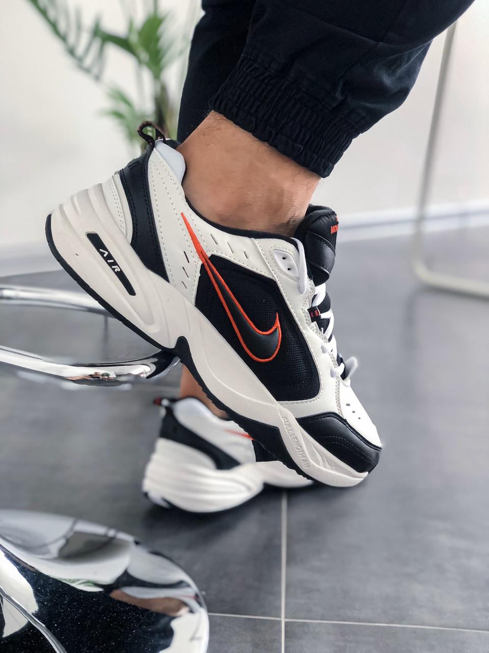 """Стильные кроссовки Nike Air Monarch IV """"Black/White"""""""
