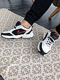 """Стильные кроссовки Nike Air Monarch IV """"Black/White"""", фото 5"""
