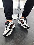 """Стильные кроссовки Nike Air Monarch IV """"Black/White"""", фото 7"""