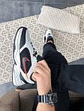 """Стильные кроссовки Nike Air Monarch IV """"Black/White"""", фото 6"""