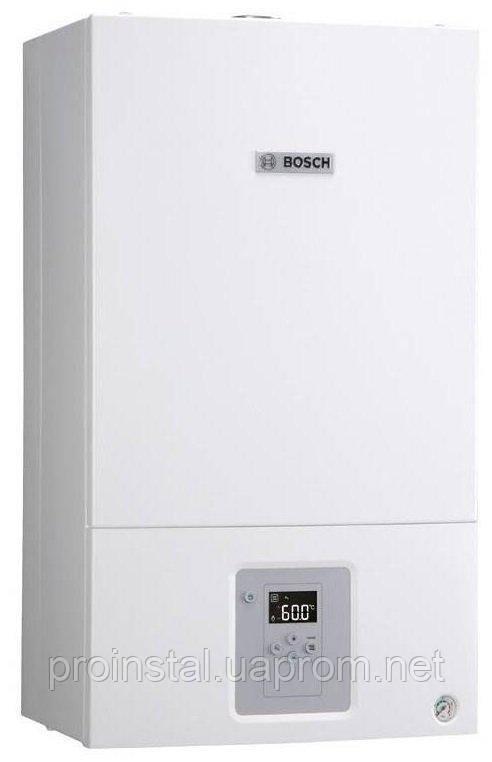 Котёл газовый Bosch Gaz 6000 W WBN 6000-24C RN двухконтурный, турбированный, 24 кВт