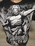 "Мужская футболка ""Antiqua"" с Зевсом - размер XL (52), фото 2"