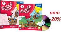 Английский язык / Fly High / Pupil's+Activity Book+CD. Учебник+Тетрадь (комплект с дисками) НУШ, 2 / Pearson