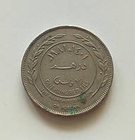 100 филсов Иордания 1981 г., фото 1