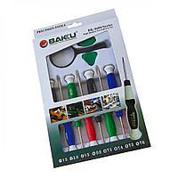 Набор инструментов BAKKU BK8600 (Отвёртки:T3,T4,T5,T6,мерс2.0,+1.5,-1.5,*1.5, 2 медиатора и лупа), Blister-box