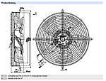 Вентилятор осевой S4E300-AS72-30 (HyBlade) Ebm-Papst, фото 2