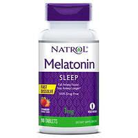 Natrol Melatonin 90 tab 1 mg Strawberry flavour USA