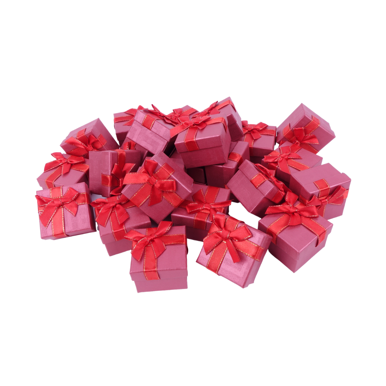 Бумажная коробочка box1-1 Красный