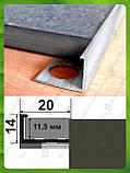 Универсальный Г-образный профиль для плитки до 12 мм L-2.7 м АП-12, фото 6
