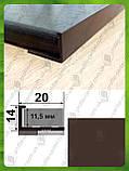 Универсальный Г-образный профиль для плитки до 12 мм L-2.7 м АП-12, фото 8