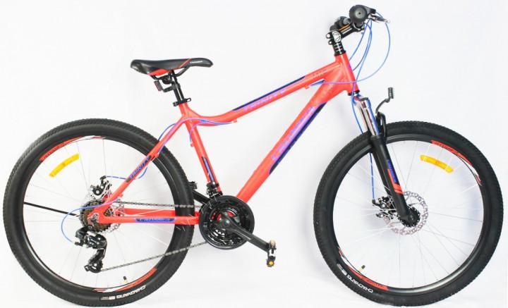 """Горный велосипед 26 дюймов Crosser Trinity рама 17"""" ORANGE"""