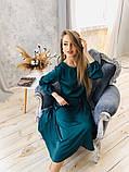Идеальное платье для торжественного мероприятия из шелка Армани. Р-р.S-M Код 7033К, фото 2
