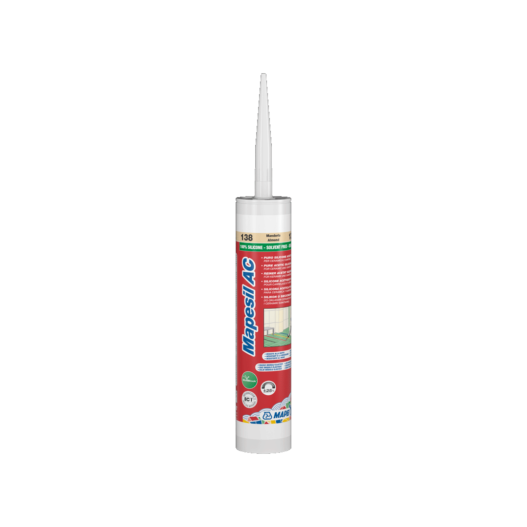 Герметик силіконовый Mapei Mapesil AC / 114 / антрацит / 310 мл