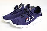 Чоловічі кросівки, сітка сині, чорні, хакі. Чоловічі кросівки сітка, сині, чорні, хакі., фото 4