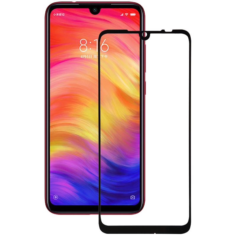 Xiaomi Redmi Note 7 / Note 7 Pro / Note 7s Черное 3D стекло защиты смартфона ксяоми редми нот 7 нот 7 про нот