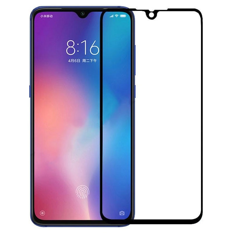 Xiaomi Mi 9 SE Черное 111D стекло защиты смартфона ксяоми 9 се ми 9 се