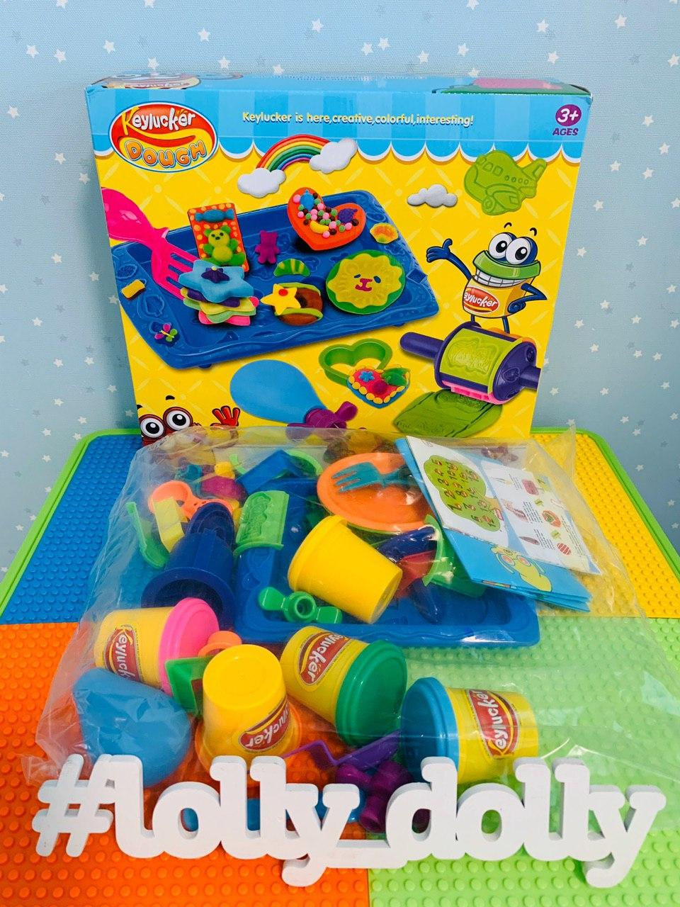 Тесто для лепки КА 1503 аналог Магазинчик печенья Play Doh