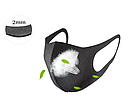 1(1шт)Многоразовая защитная маска питта, фото 2
