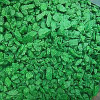 Цветной щебень зеленый 5-10мм