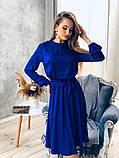 Идеальное платье для торжественного мероприятия из шелка Армани. Р-р.S-M Код 7033К, фото 3