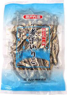 Musou Niboshi Shiriko сушеные сардинки из внутреннего моря Сето без консервантов и добавок 100 г