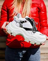 Женские кроссовки Prada Chunky White, фото 1
