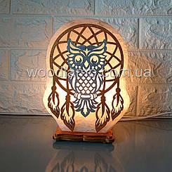 Соляна лампа Ловець снів кольоровий