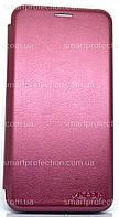 Чехол книжка для Samsung J400 J4 2018 бордовый, фото 1
