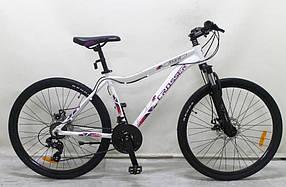 "Гірський велосипед 26 дюймів Crosser Angel рама 16,5"" WHITE"