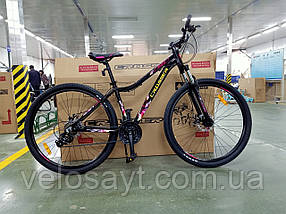 """Гірський велосипед 26 дюймів Crosser Angel рама 16,5"""" BLACK"""