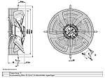 Вентилятор осевой S4E350-AN02-30 (HyBlade) Ebm-Papst, фото 3