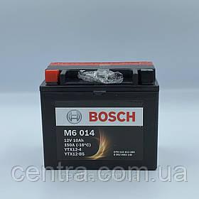 Мото аккумулятор Bosch YTX12-BS (0092M60140) 12V 10AH 150A