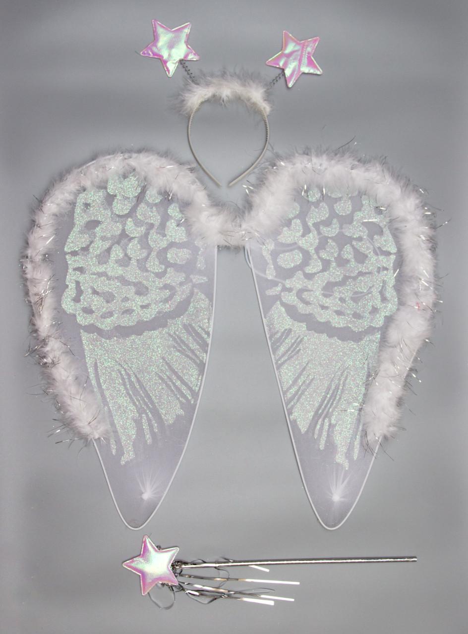 Карнавальный набор белый (HLJ170419-14)