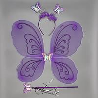 Карнавальный костюм БАБОЧКА, фиолетовый (HLJ170419-18-3)