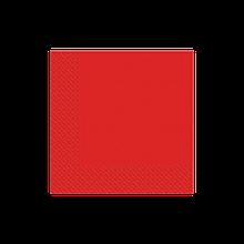 Салфетки красные 33х33см Марго 50шт 2 слойные