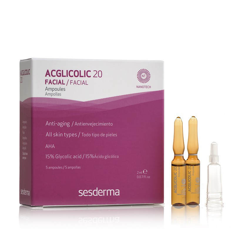 Омолаживающая сыворотка с гликолевой кислотой SESDERMA ACGLICOLIC 20
